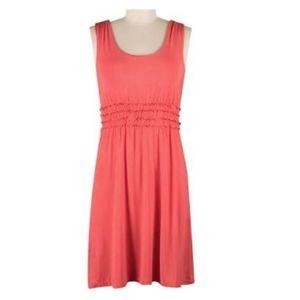Aventura Coral Scoop Neck Dress